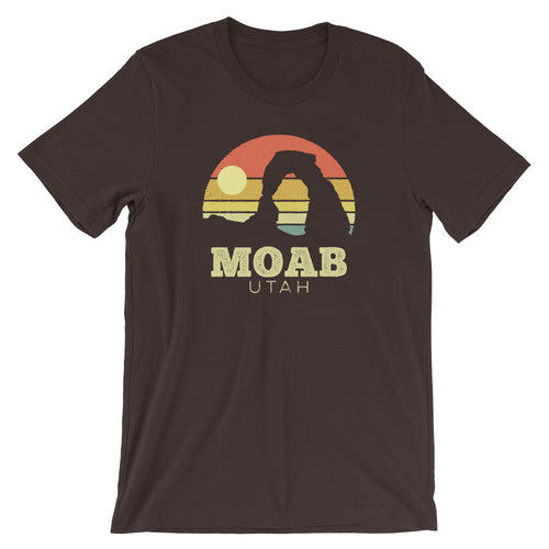 Moab Utah Vintage Sunset Arches T-Shirt