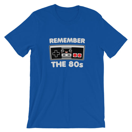 Remember the 80s Video Game Controller Kawaii T-Shirt