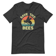 Load image into Gallery viewer, Save the Bees Vintage Sunset T-Shirt
