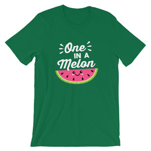 One in a Melon Funny Food Pun T-Shirt