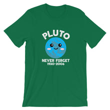 Load image into Gallery viewer, Pluto Never Forget T-Shirt