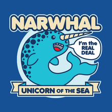 Load image into Gallery viewer, Narwhal Unicorn of the Sea