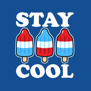 Stay Cool USA Popsicle