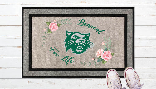 Bearcat For Life Door Mat