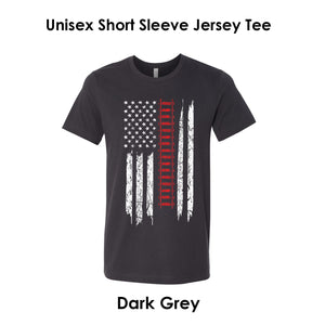 Railroad American Flag Tee
