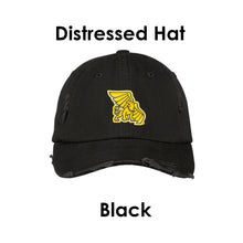 Load image into Gallery viewer, Missouri Western State University Distressed Hat