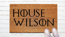 Load image into Gallery viewer, House Of, Games of Thrones inspired Door Mat