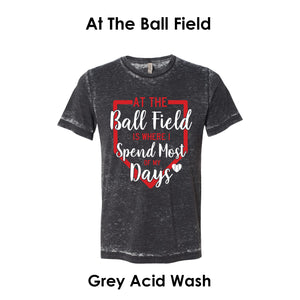 At The Baseball Field Tee