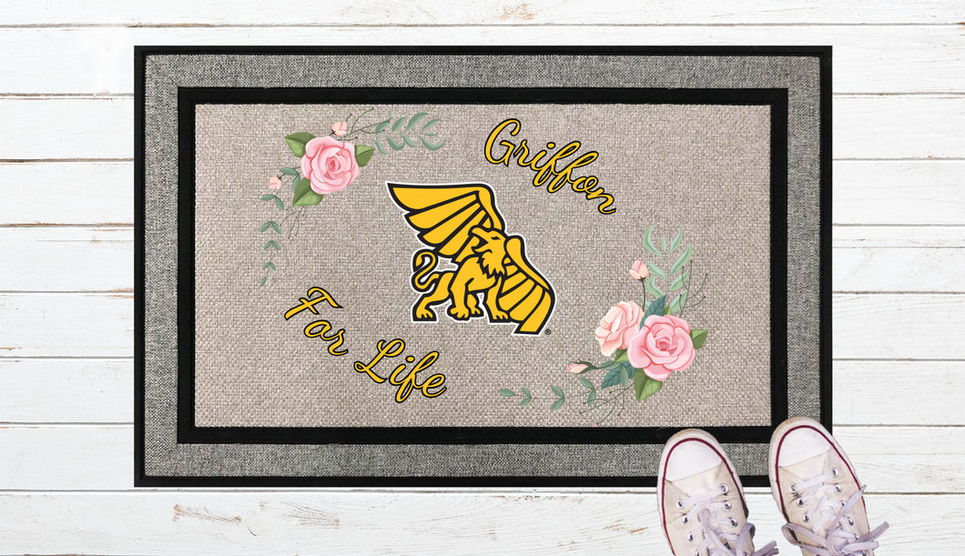 Griffon for Life Door Mat
