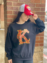 Load image into Gallery viewer, KC Metallic Crewneck