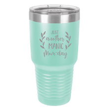 Load image into Gallery viewer, Just Another Manic Mom Day Wine Tumbler
