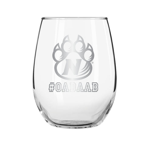 #OABAAB Stemless Wine Glass