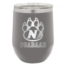 Load image into Gallery viewer, 12 oz. #OABAAB Wine Tumbler