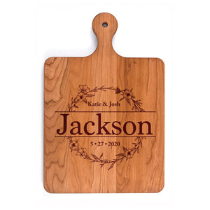 Rounded Handled Cutting Board