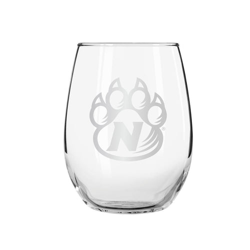 Northwest Missouri State Stemless Wine Glass