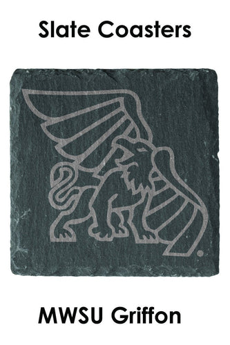 Griffon Set of 4 Slate Coasters