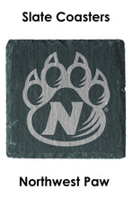 Load image into Gallery viewer, Northwest Paw Set of 4 Slate Coasters