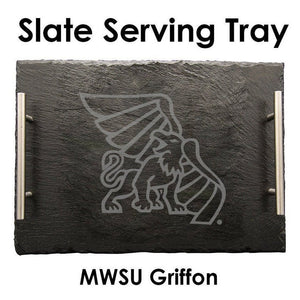 Missouri Western State University Slate Serving Tray