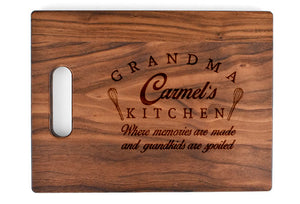 SMALL HANDLE BOARD ROUNDED CORNERS & EDGES