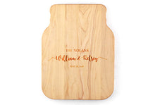 Load image into Gallery viewer, MASON JAR SHAPED WOODEN CUTTING BOARD