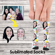 Load image into Gallery viewer, Custom Socks