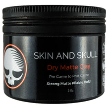 Load image into Gallery viewer, Dry Matte Clay - Skin and Skull