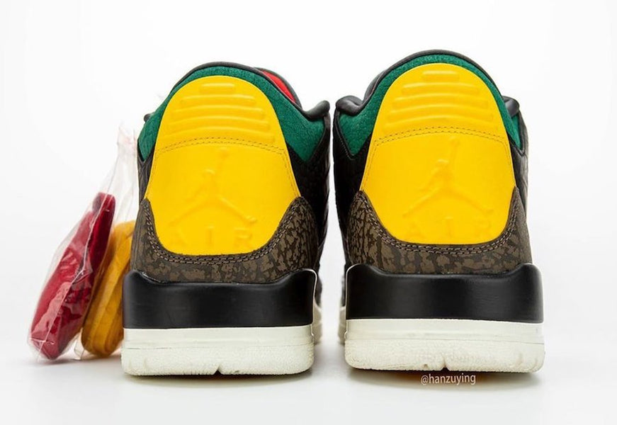 "New Air Jordan 3 ""Animal Instinct"" 2.0 Sneakers"
