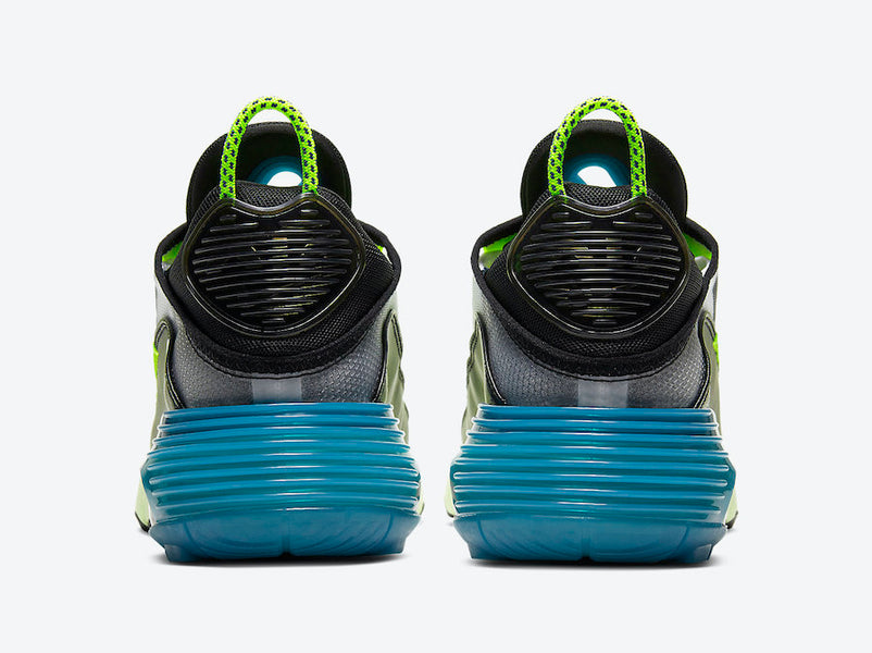 "New Nike Air Max 2090 ""Black & Volt Blue"" Sneakers"