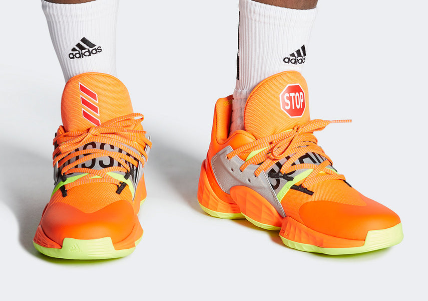 New Adidas x James Harden Vol 4 Sneakers