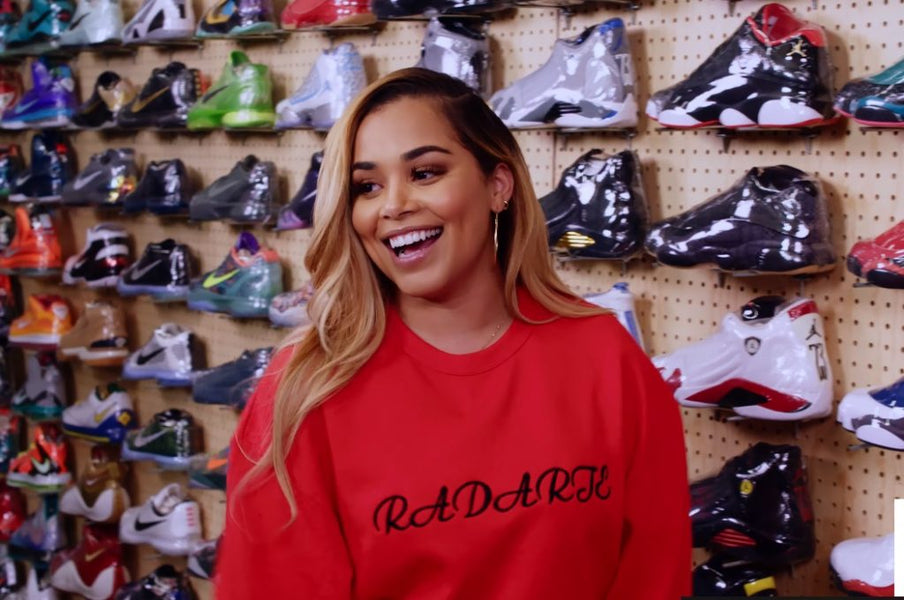 Throwback Thursday with Complex Sneaker Shopping with Lauren London