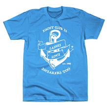 "Load image into Gallery viewer, *LADIES LOVE SNEAKERS TOO™ ""Yacht Club 23""T-SHIRT"