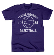 "Load image into Gallery viewer, Stacksandkicks ""Basketball"" T-Shirt"