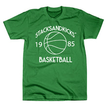 "Load image into Gallery viewer, *Stacksandkicks ""Basketball"" T-Shirt"