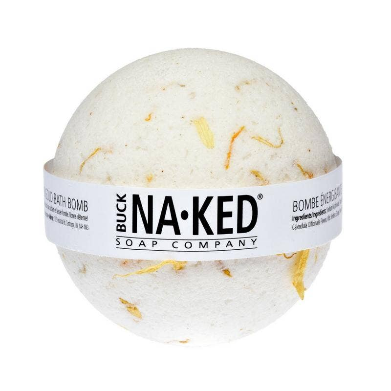 Energizing Marigold Bath Bomb - Buck Naked