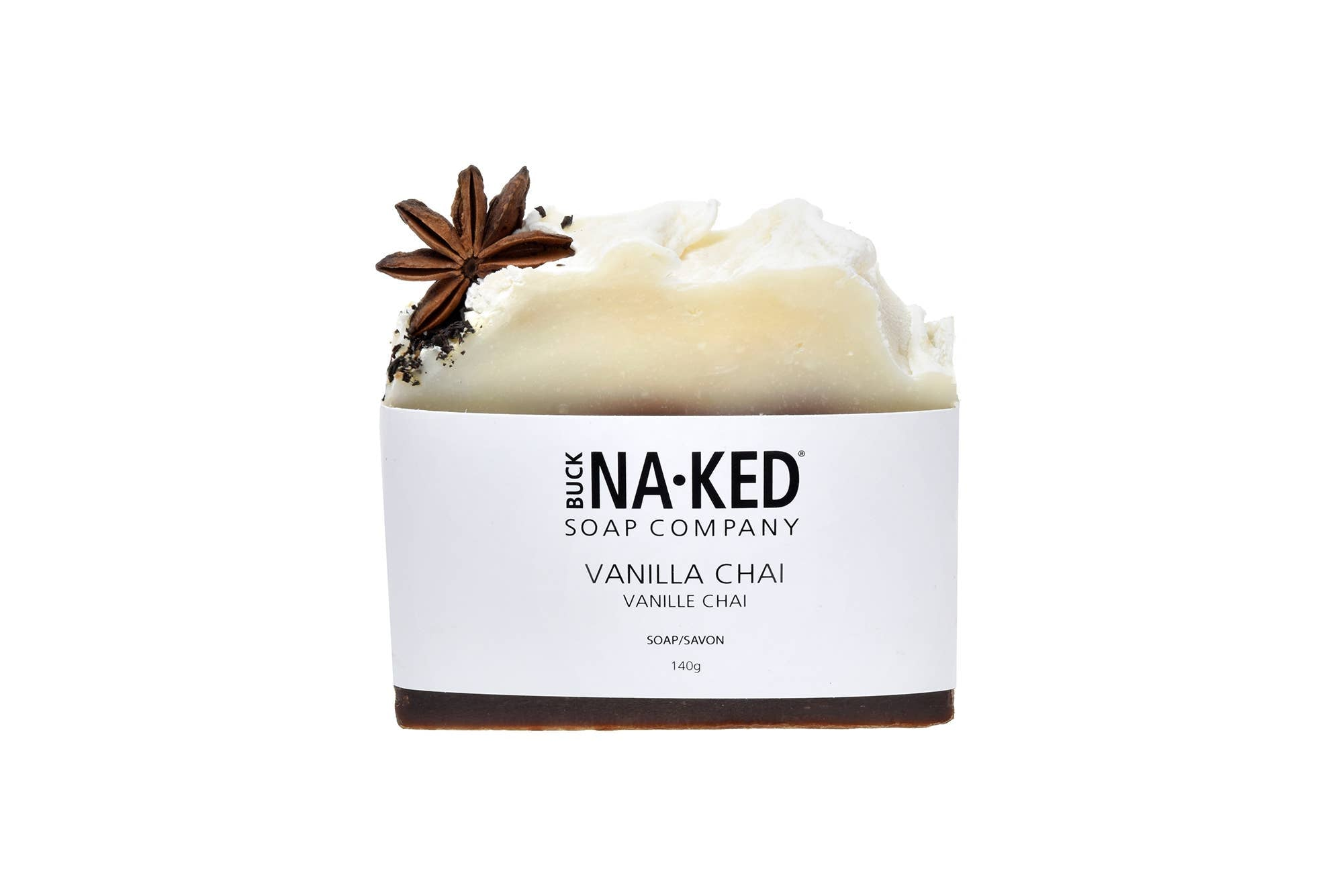 Vanilla Chai Soap - Buck Naked