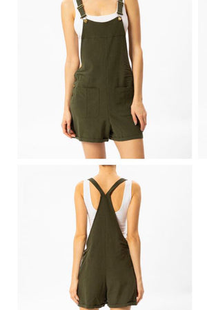 KANCAN 1010OL OLIVE OVERALL