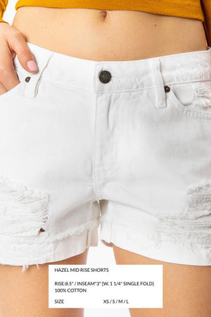 KANCAN 7327WT WHITE SHORT