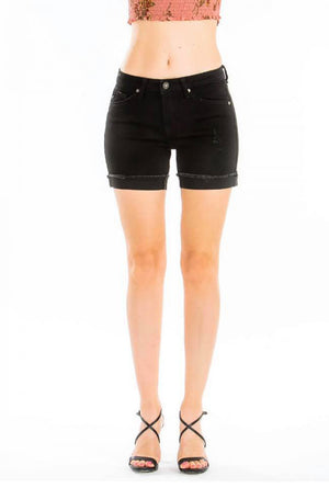 KANCAN BLACK SHORT 5027