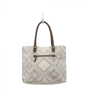 Myra Bag Artisan Canvas Tote