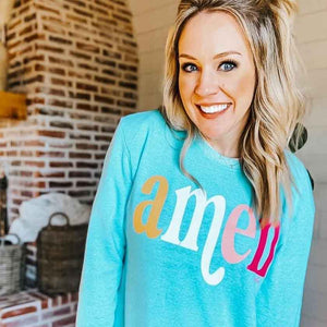 Bright AMEN Tunic