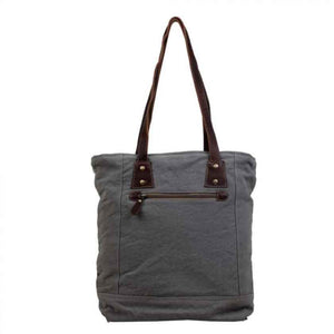 Myra Bag Checkered Tote
