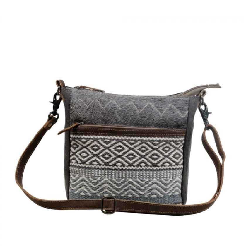 Myra Bag Chevron Patterned Crossbody Bag