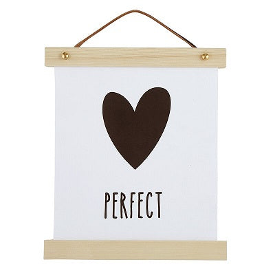 Perfect Canvas Wall Sign - CB