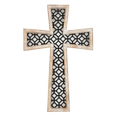 "Arabesque Wall Cross 16"" - CB"