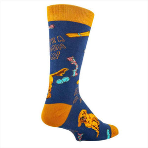 HAVE A GOLDEN DAY WOMENS CREW SOCKS - OOOH YEAH