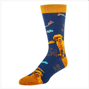 HAVE A GOLDEN DAY WOMENS CREW SOCKS - OHHH YEAH
