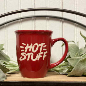 HOT STUFF - RED - MUG