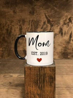 Custom Mom Established Mug