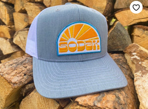 SODAK Sunbeams Gray Trucker Hat