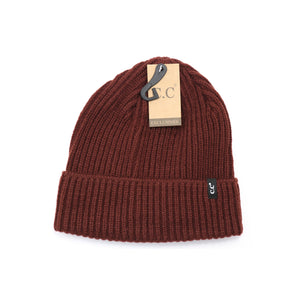 CC Ribbed Beanie-4 Colors
